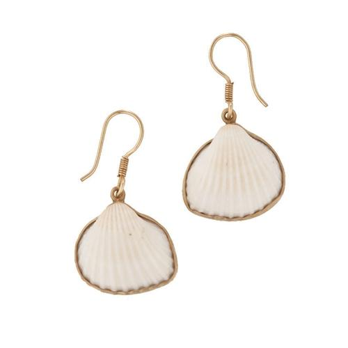 Alchemia Ark Shell Earrings | Charles Albert Jewelry