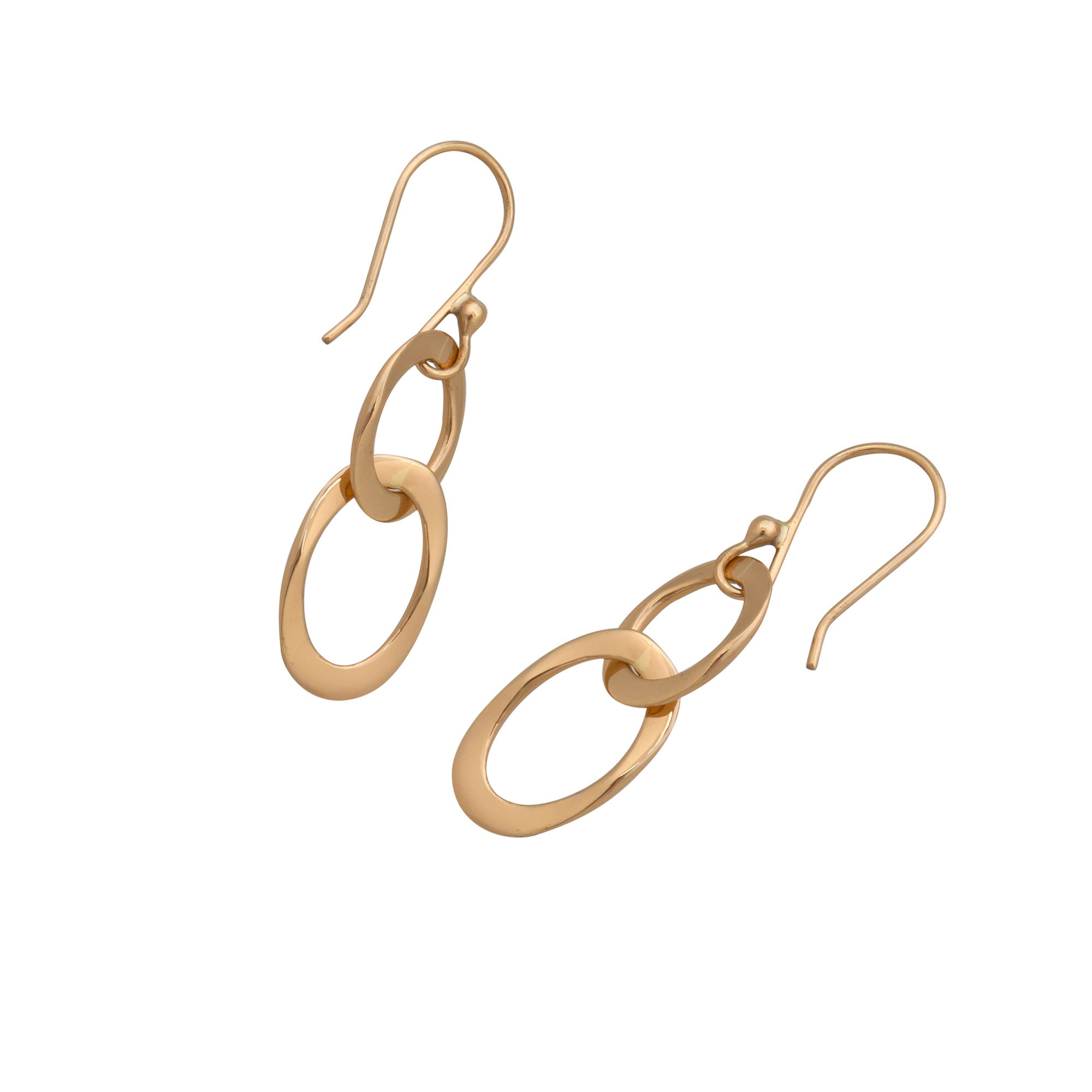 Alchemia Lightweight Chain Link Earrings | Charles Albert Jewelry