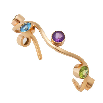 alchemia-multi-gemstone-wave-cuff - 3 - Charles Albert Inc