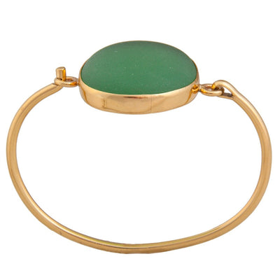 alchemia-green-recycled-glass-bangle - 2 - Charles Albert Inc