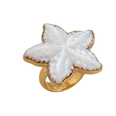 alchemia-mother-of-pearl-starfish-ring - 2 - Charles Albert Inc