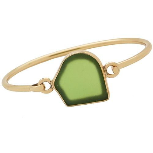 alchemia-green-recycled-glass-bangle-1 - 1 - Charles Albert Inc