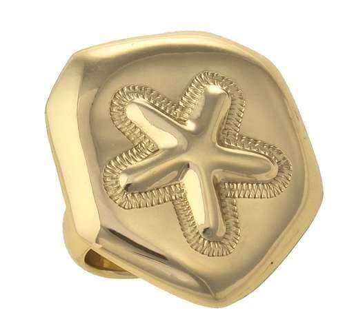 Alchemia Sand Dollar Adjustable Ring | Charles Albert Jewelry