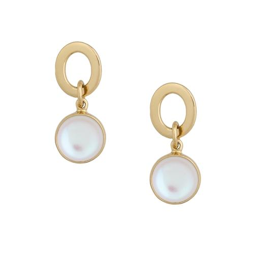 Alchemia Luminite Circle Post Earrings | Charles Albert Jewelry