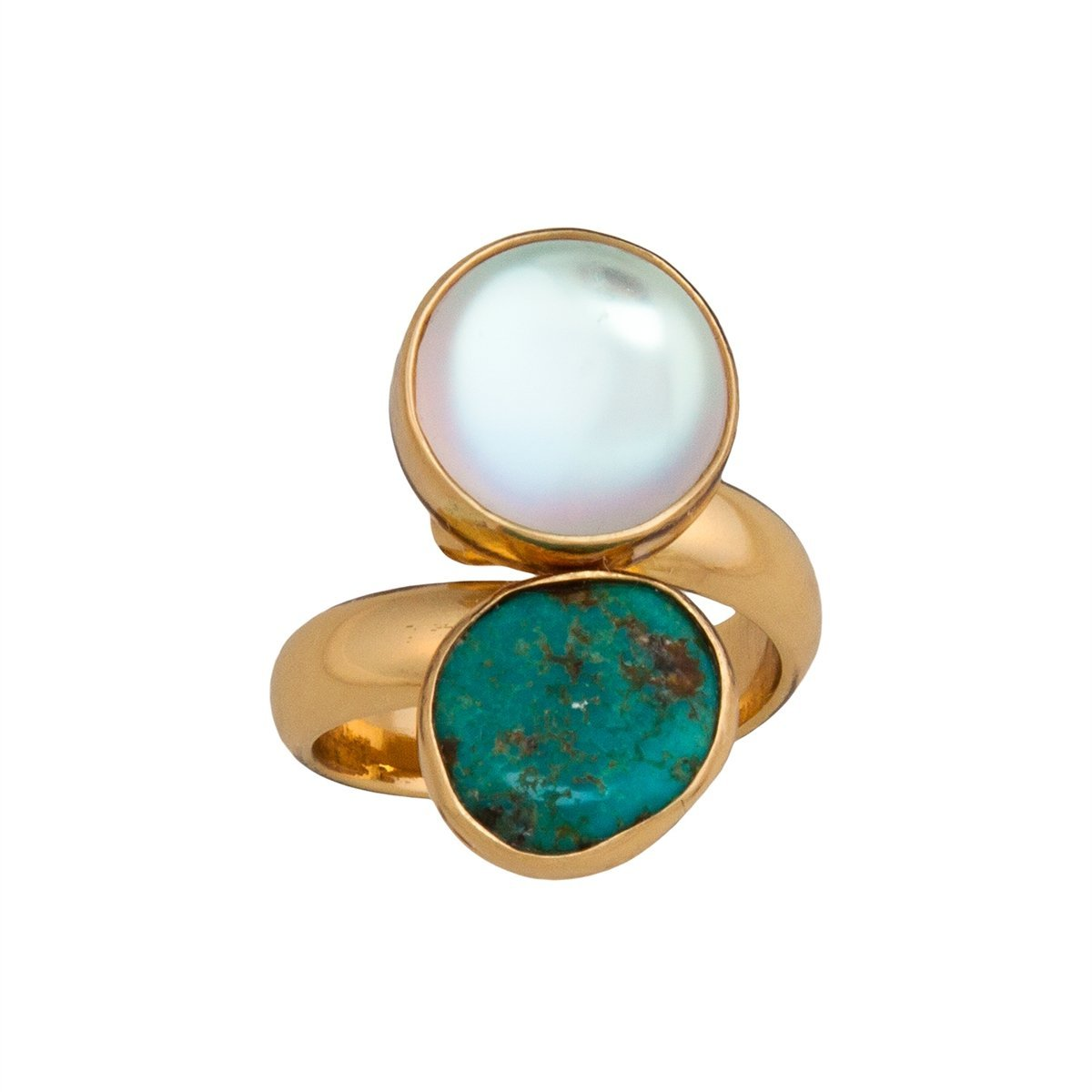 Alchemia Luminite & Campo Frio Adjustable Ring | Charles Albert Jewelry