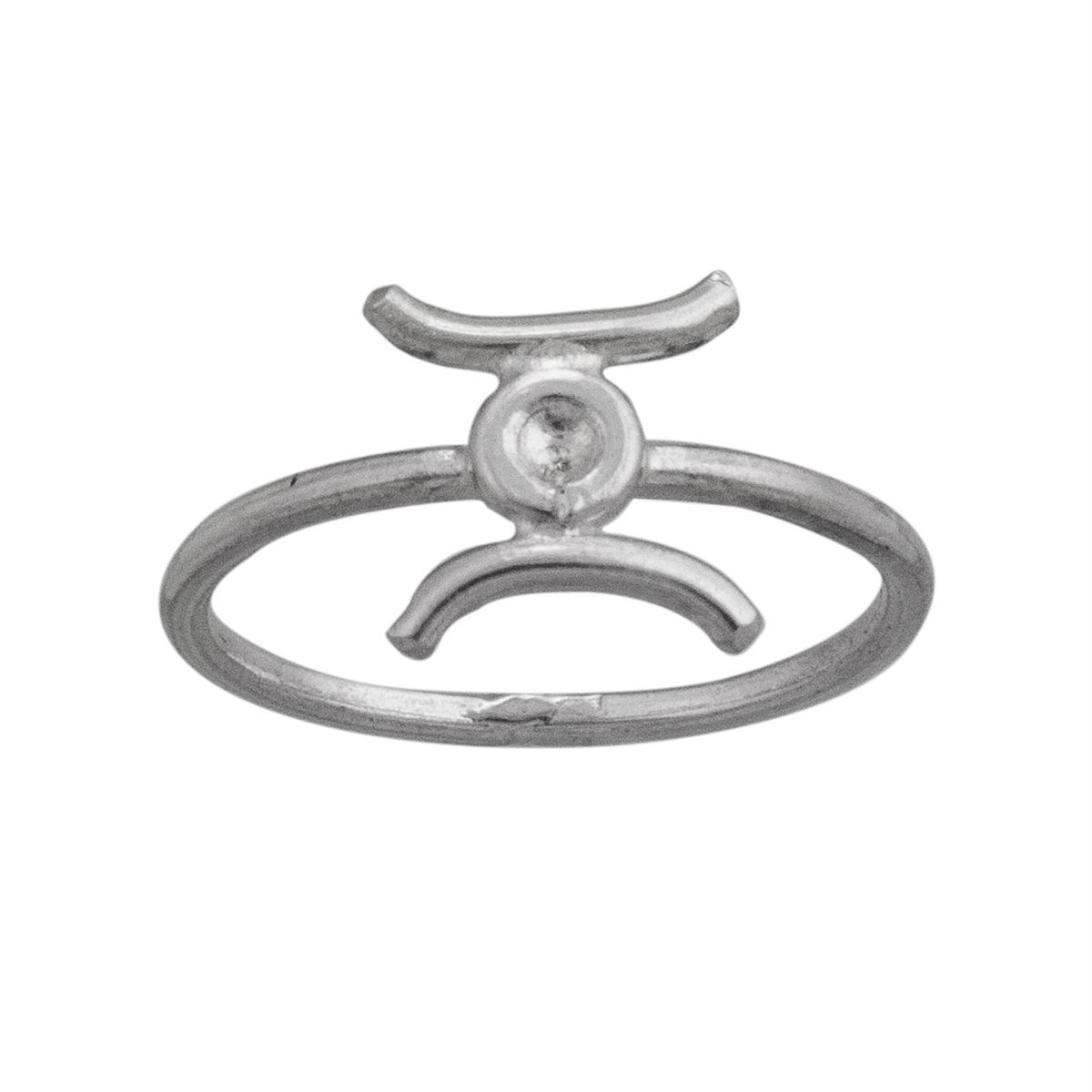 sterling-silver-gemini-ring - 1 - Charles Albert Inc