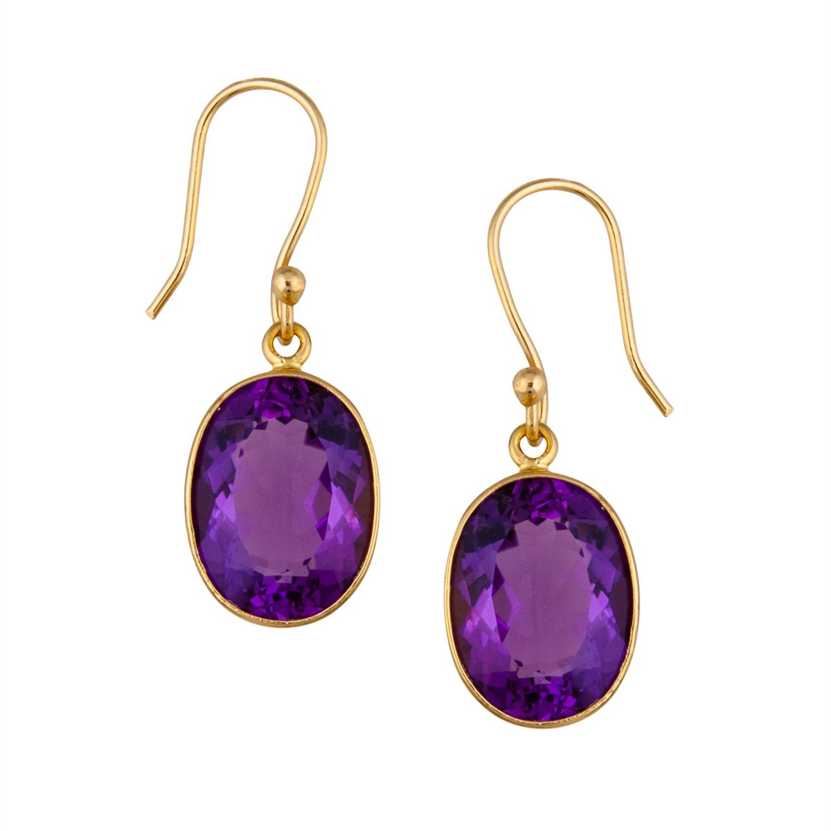 Alchemia Amethyst Drop Earrings