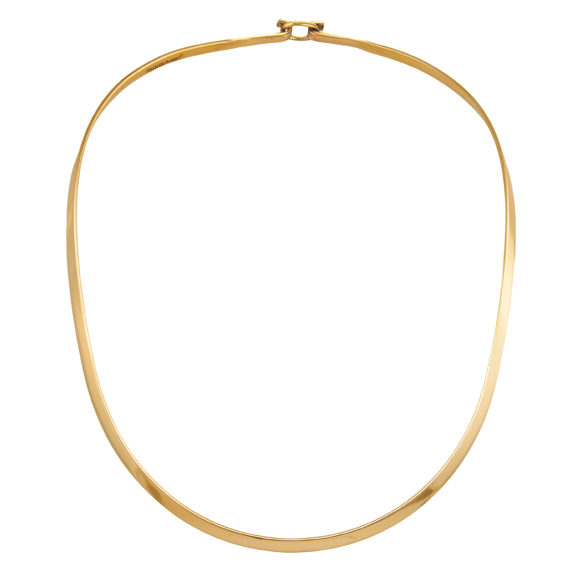 alchemia-oval-neckwire - 1 - Charles Albert Inc