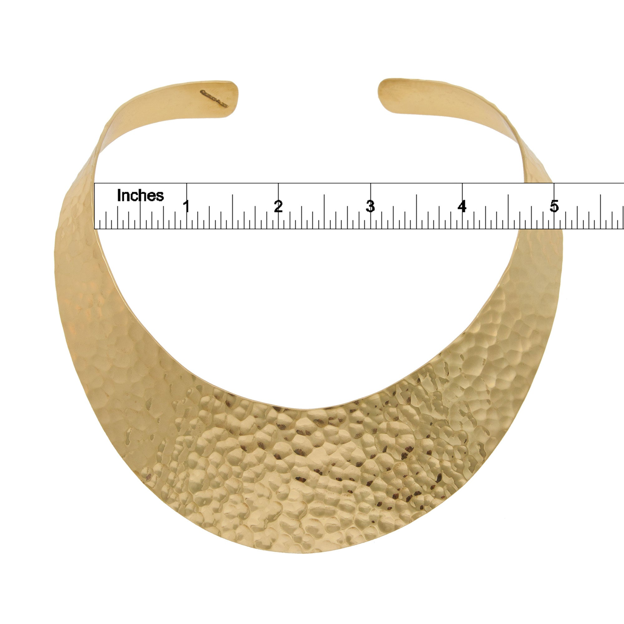 Alchemia Hammered Wide Collar | Charles Albert Jewelry