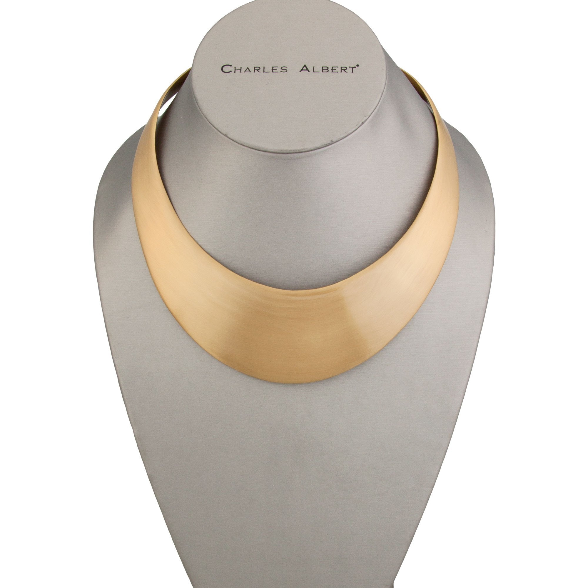 Alchemia Matte Wide Collar | Charles Albert Jewelry