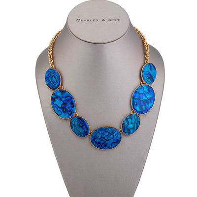 alchemia-blue-abalone-necklace - 1 - Charles Albert Inc