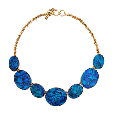 alchemia-blue-abalone-necklace - 2 - Charles Albert Inc