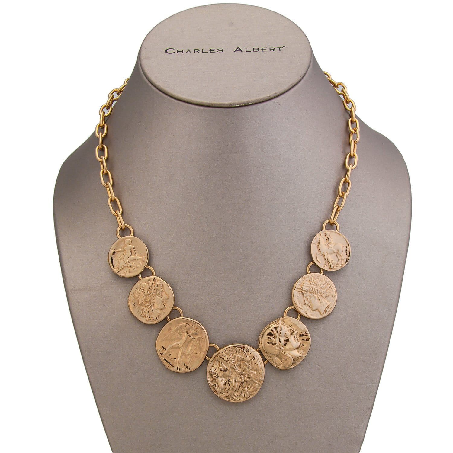 Alchemia Greek Coin Necklace