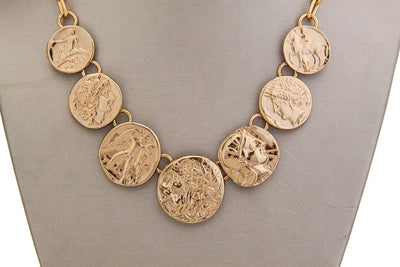 alchemia-greek-coin-necklace - 2 - Charles Albert Inc