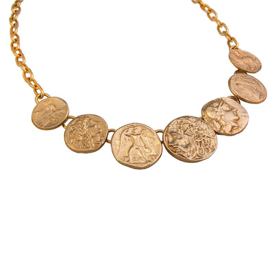 alchemia-greek-coin-necklace - 4 - Charles Albert Inc