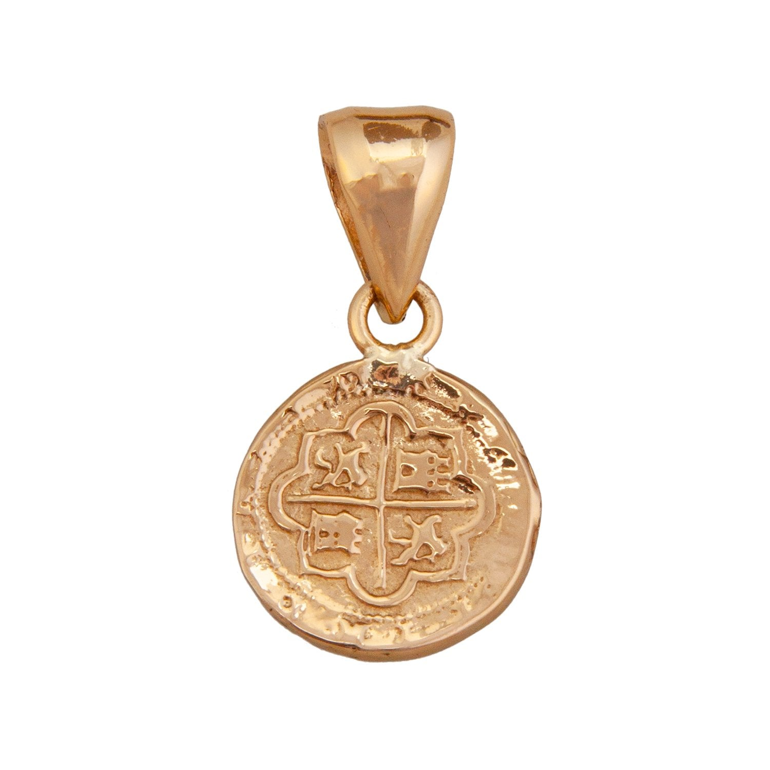 Alchemia Replica Spanish Coin Pendant | Charles Albert Jewelry