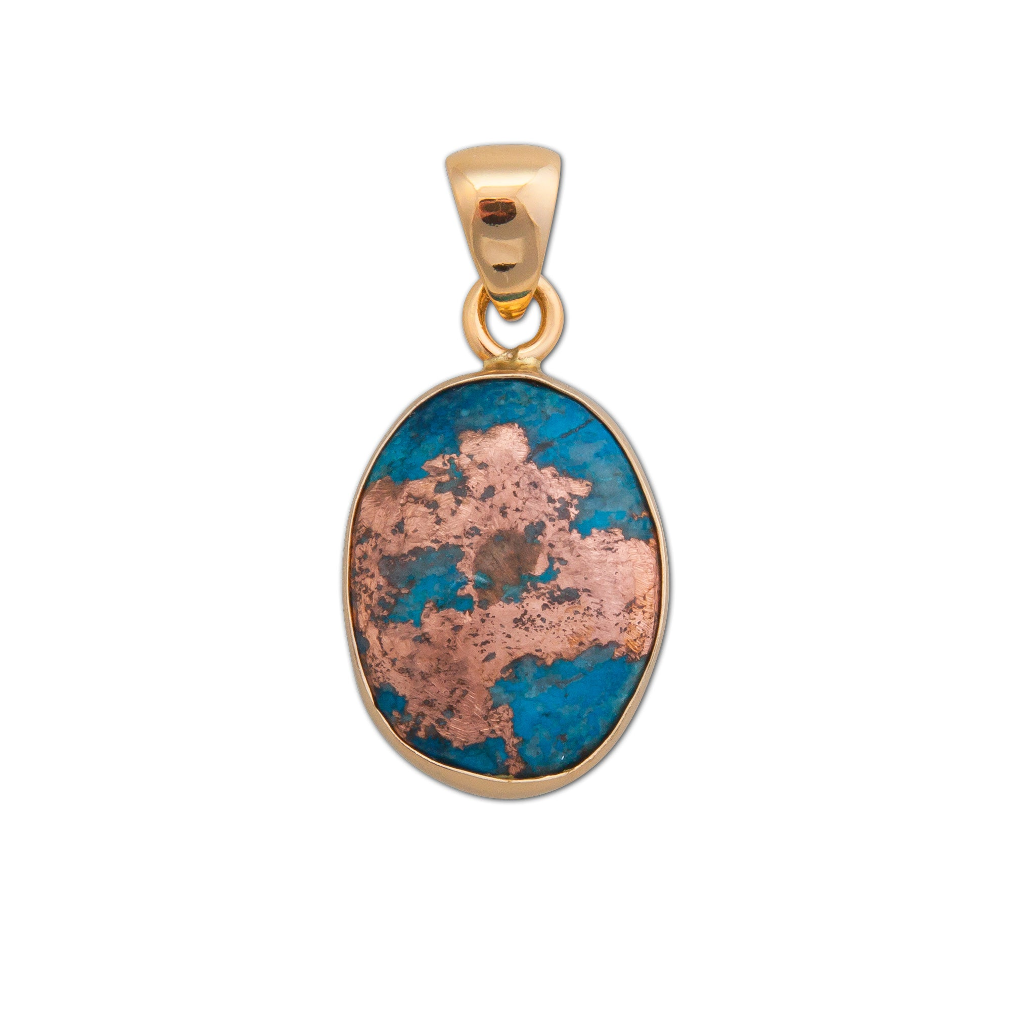 Alchemia Alunite with Copper Pendant | Charles Albert Jewelry