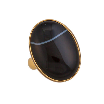 alchemia-sardonyx-adjustable-ring - 1 - Charles Albert Inc