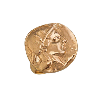 alchemia-athena-greek-goddess-adjustable-ring - 1 - Charles Albert Inc