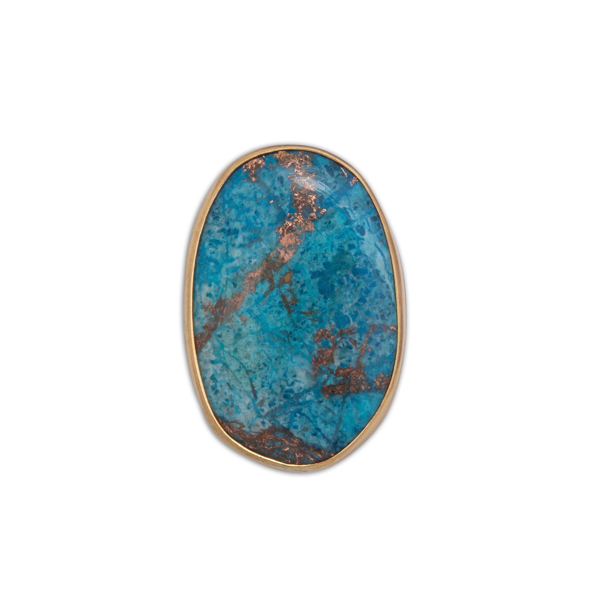 Alchemia Alunite with Copper Adjustable Ring | Charles Albert Jewelry