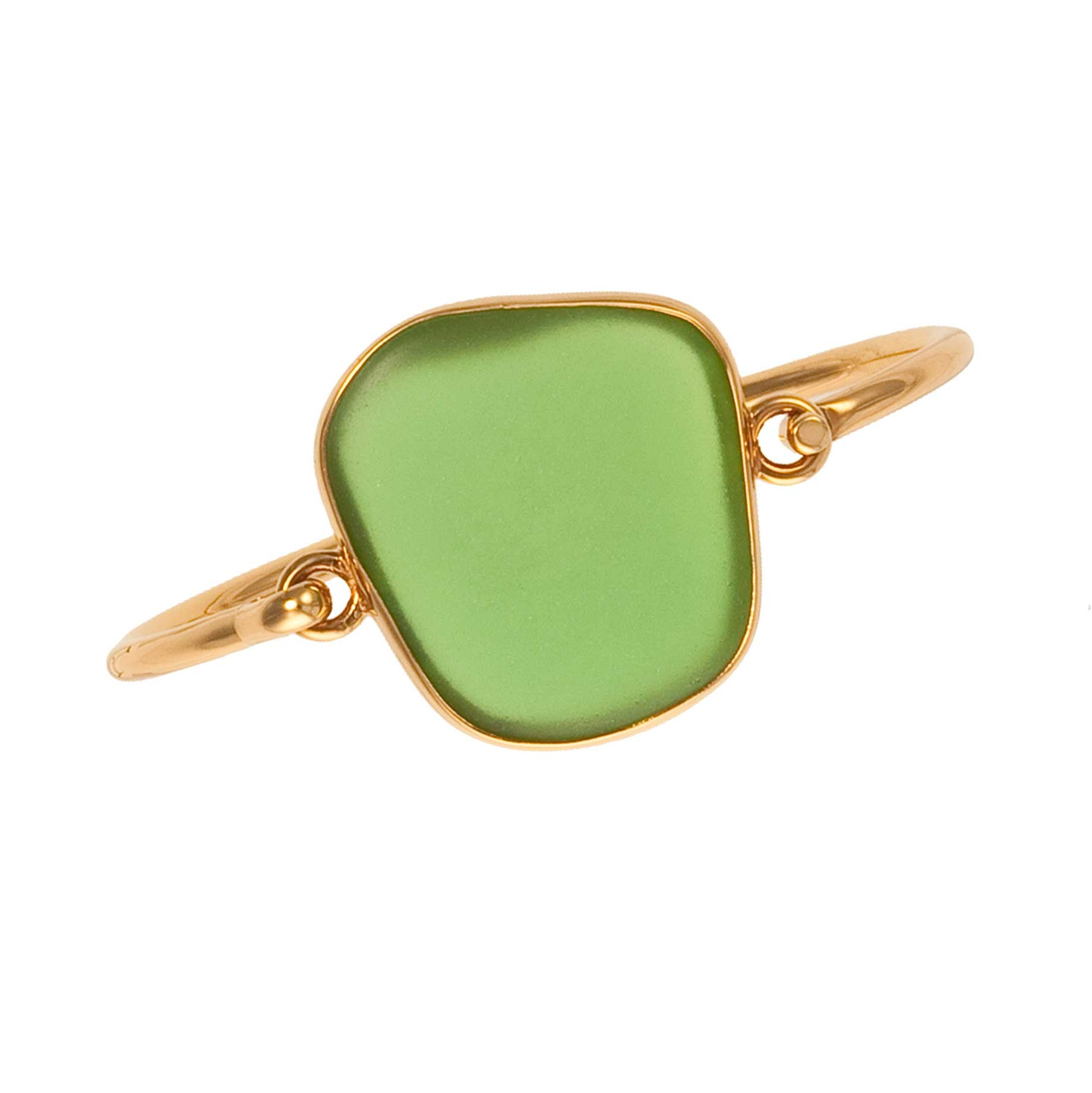 Alchemia Green Recycled Glass Bangle | Charles Albert Jewelry
