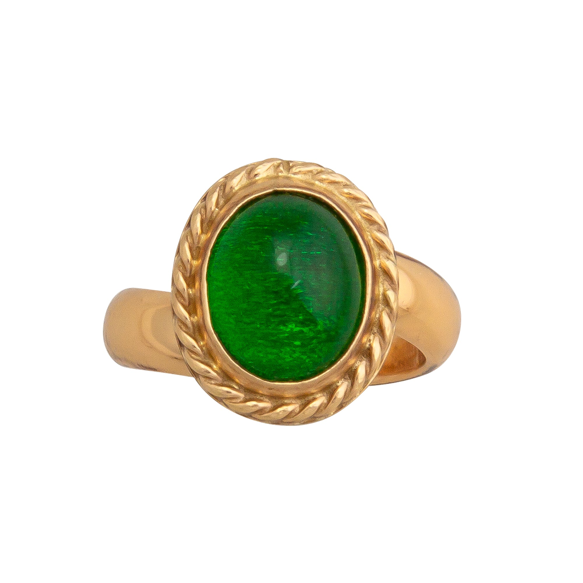 Alchemia Lab Created Emerald Ring | Charles Albert Jewelry