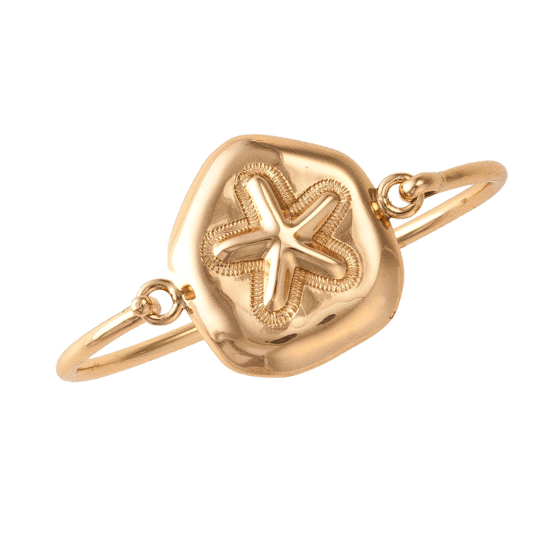Alchemia Sand Dollar Bangle | Charles Albert Jewelry