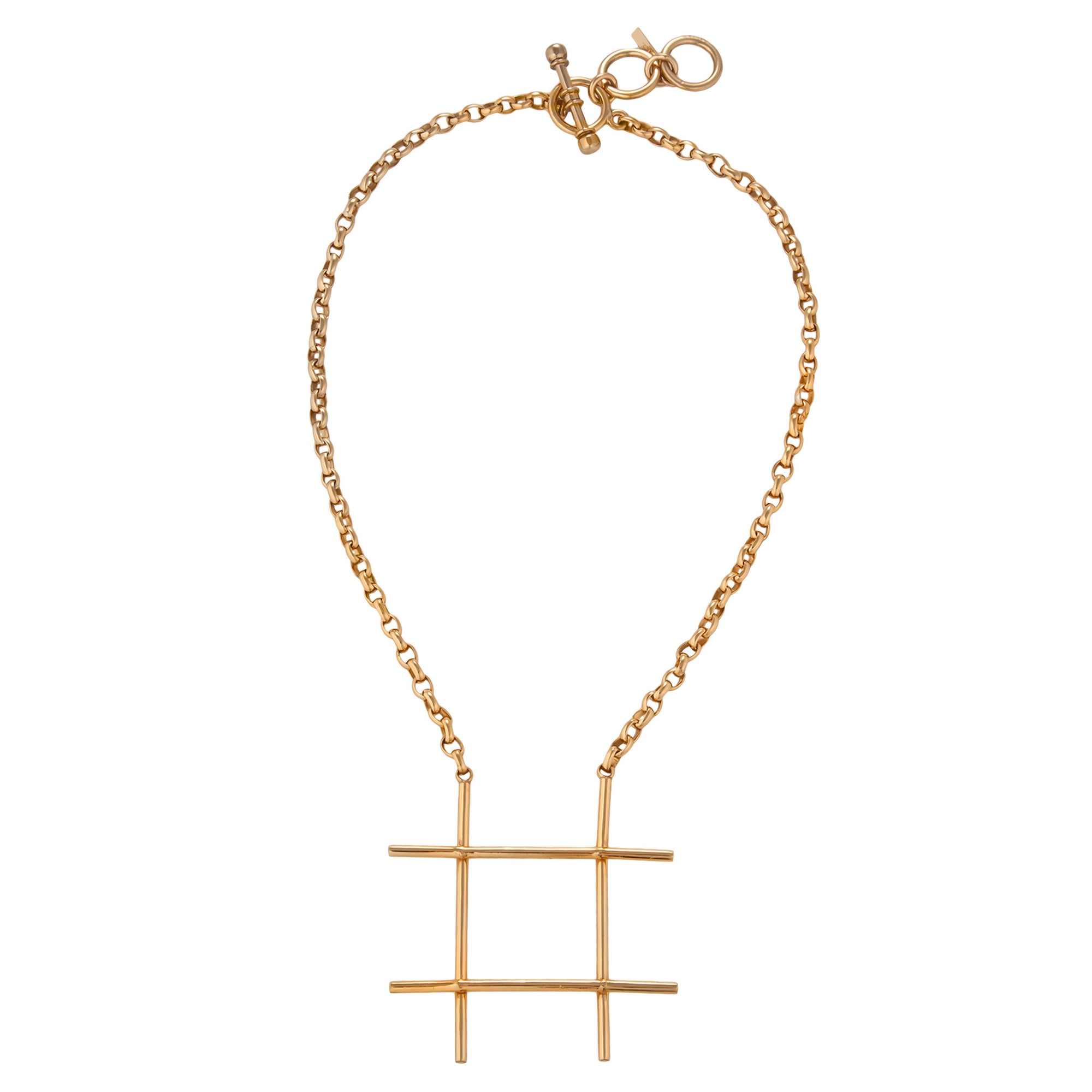 Alchemia # 'Hash Tag' Necklace | Charles Albert Jewelry