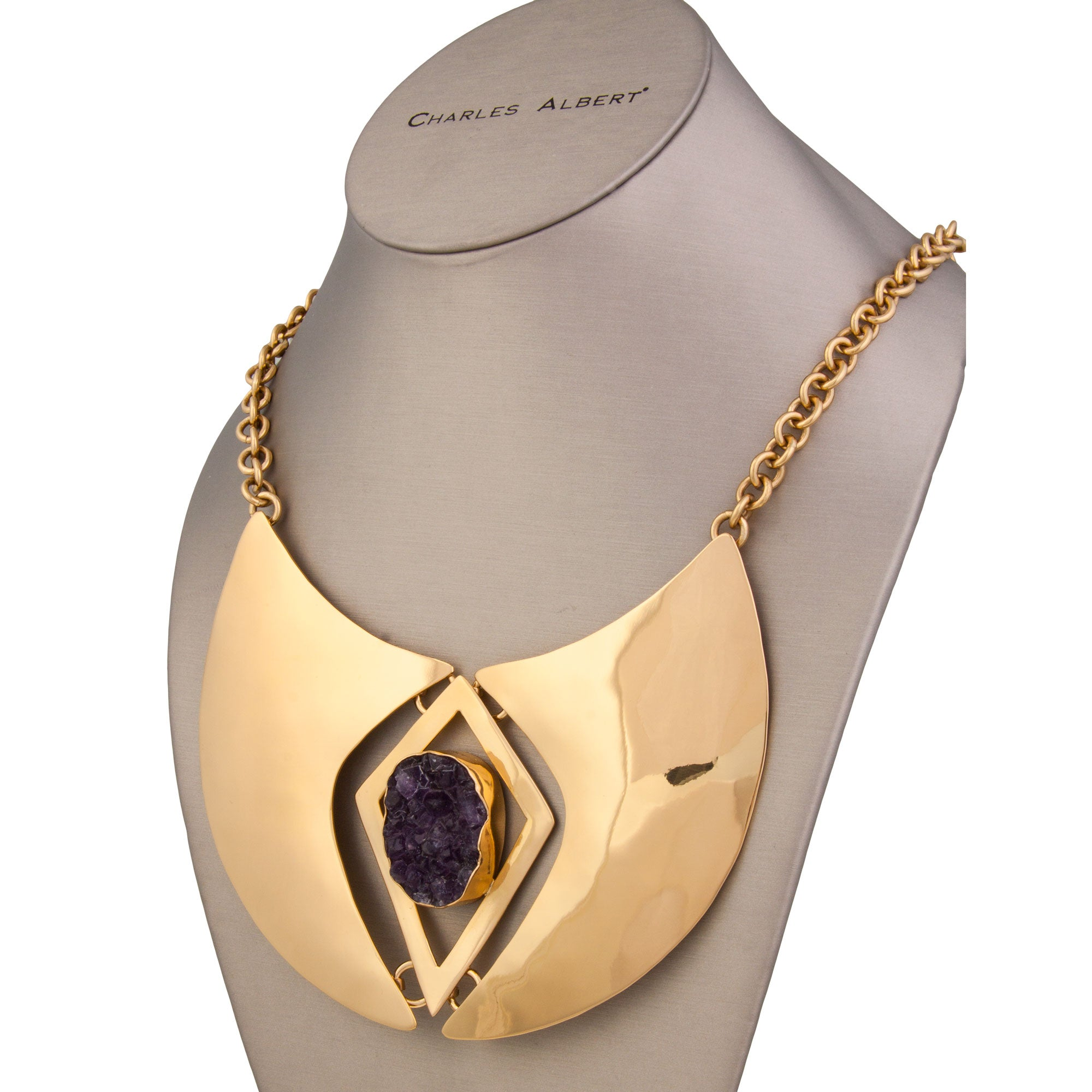 Alchemia Cashmere Amethyst Necklace | Charles Albert Jewelry