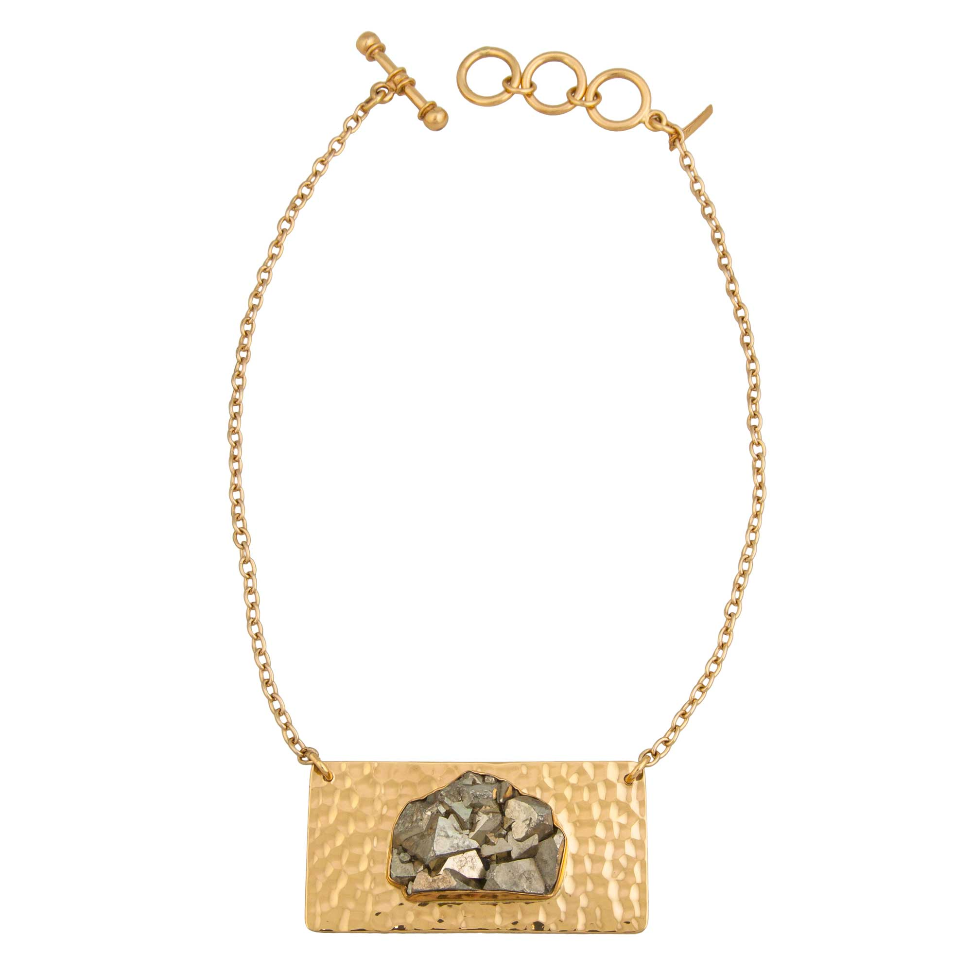 Alchemia Pyrite Necklace | Charles Albert Jewelry