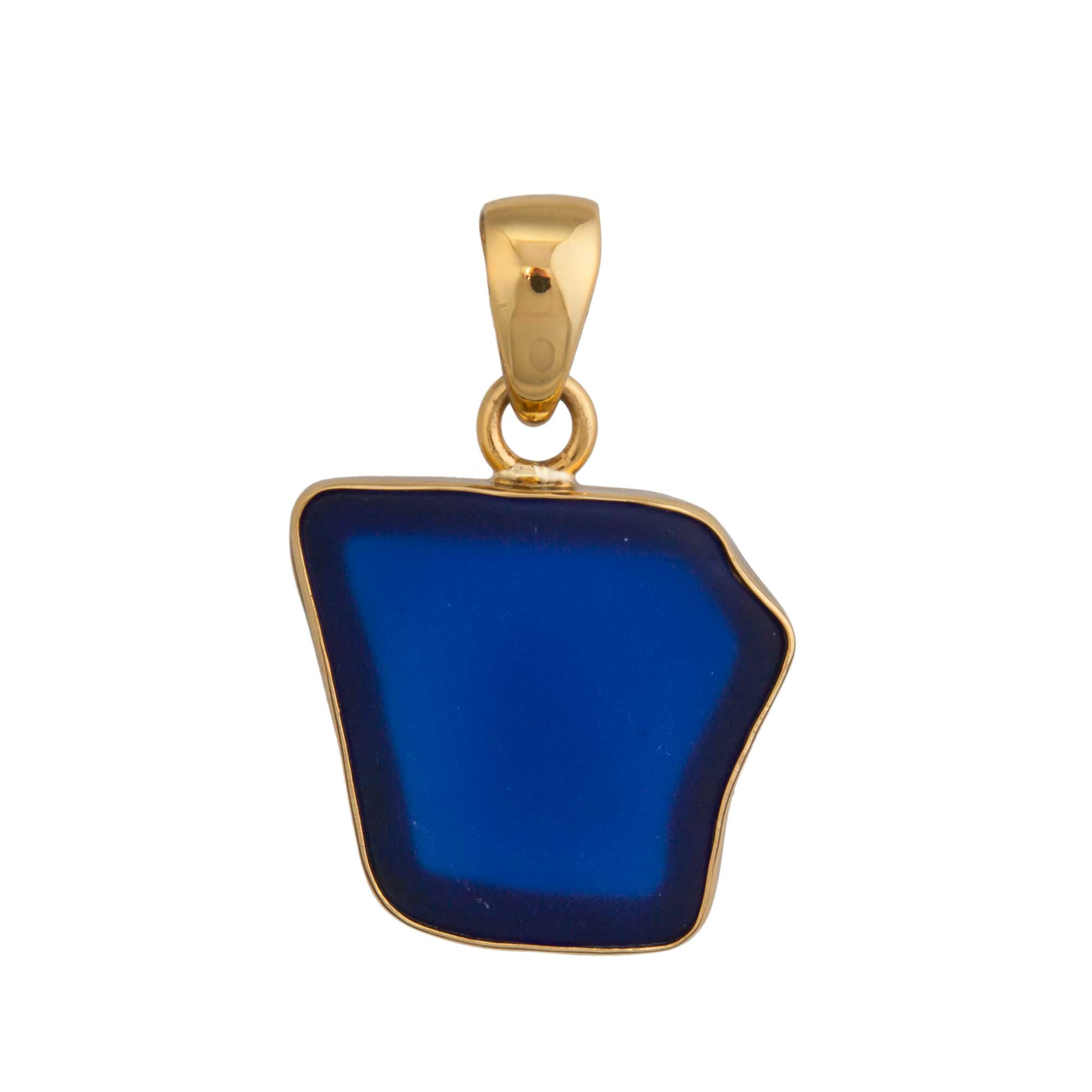 Alchemia Cobalt Recycled Glass Pendant | Charles Albert Jewelry