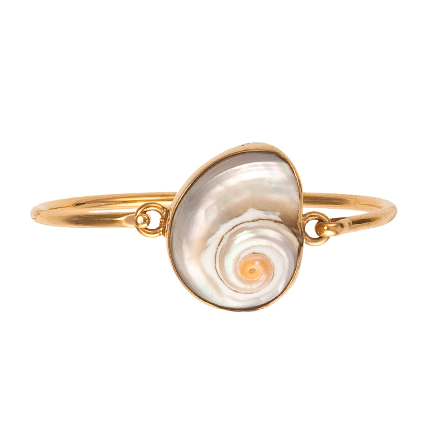 Alchemia Cinnerus Shell Bangle | Charles Albert Jewelry
