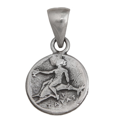sterling-silver-boy-on-dolphin-pendant - 4 - Charles Albert Inc
