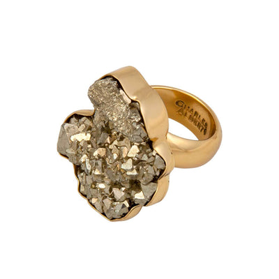 alchemia-pyrite-adjustable-ring - 3 - Charles Albert Inc