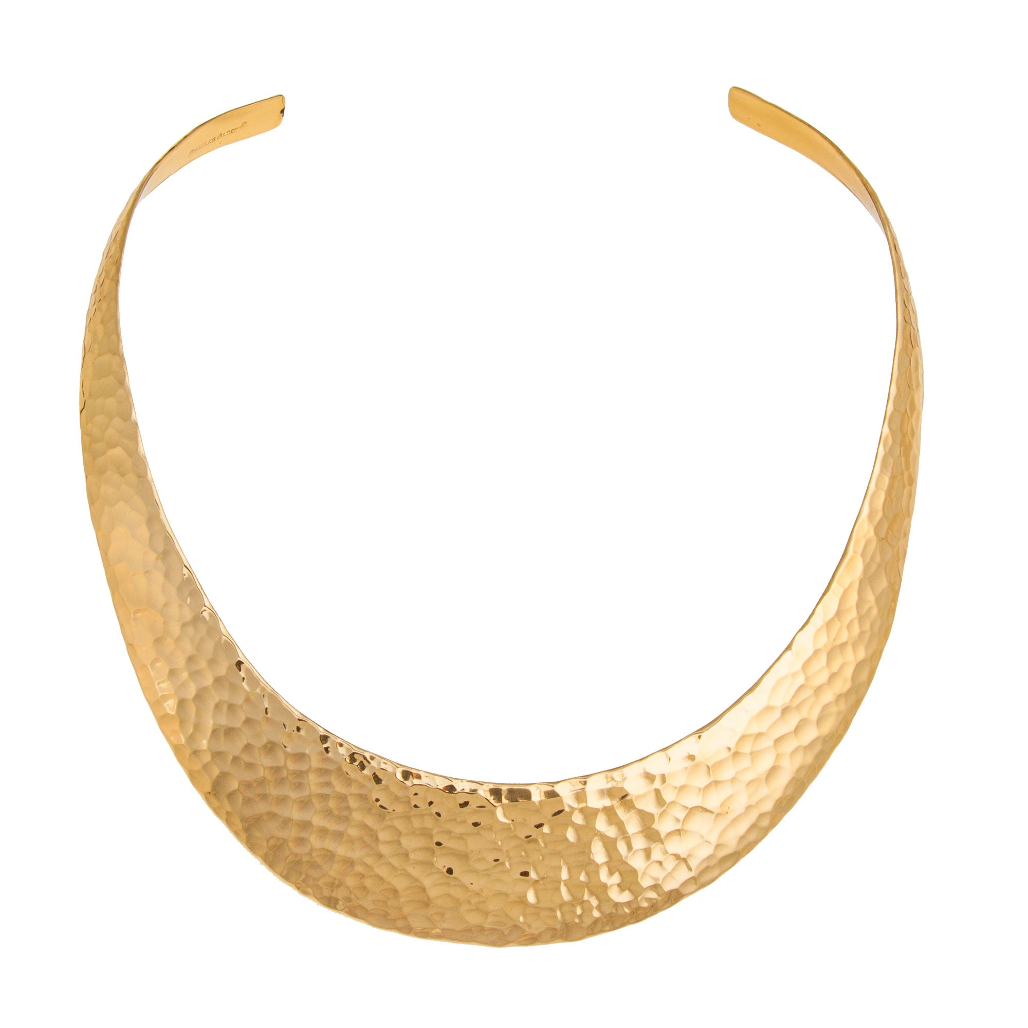 Alchemia Hammered Graduated Collar - 9H | Charles Albert Jewelry