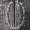 Sterling Silver Fringe Necklace