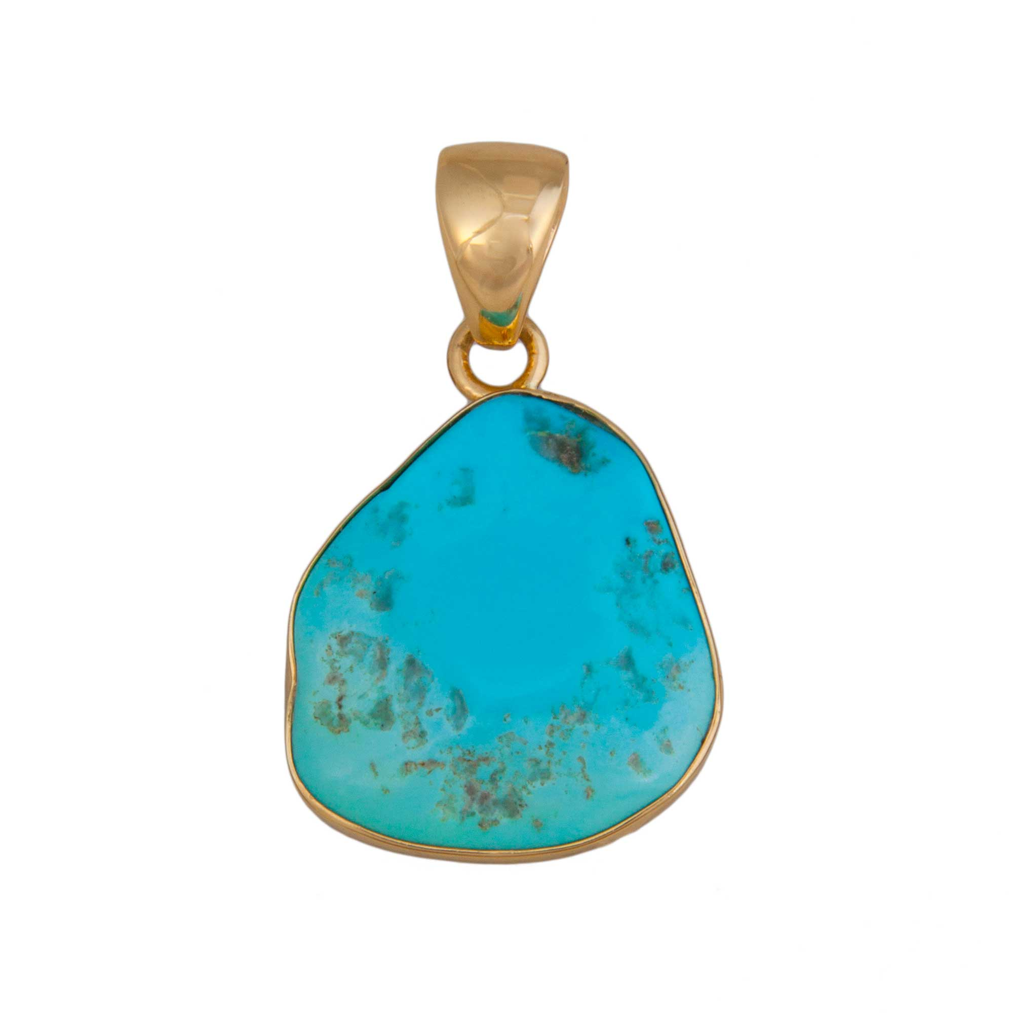 Alchemia Sleeping Beauty Turquoise Pendant | Charles Albert Jewelry
