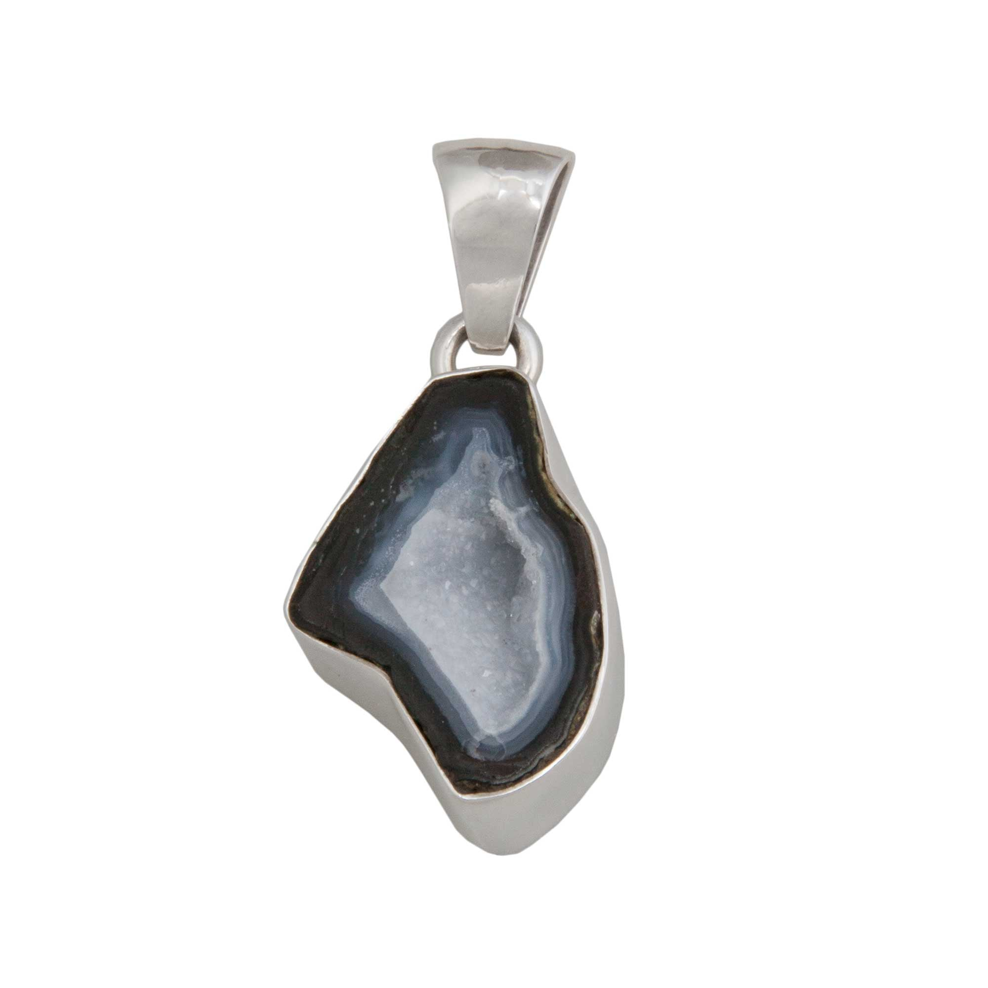 Sterling Silver Tabasco Geode Pendant | Charles Albert Jewelry