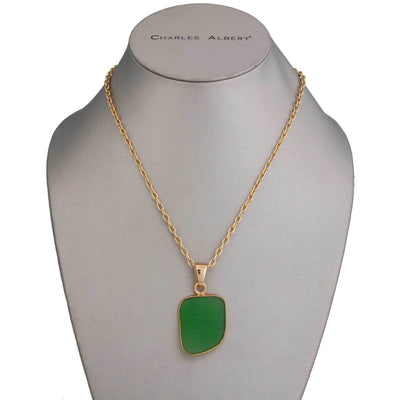 Alchemia Green Recycled Glass Pendant
