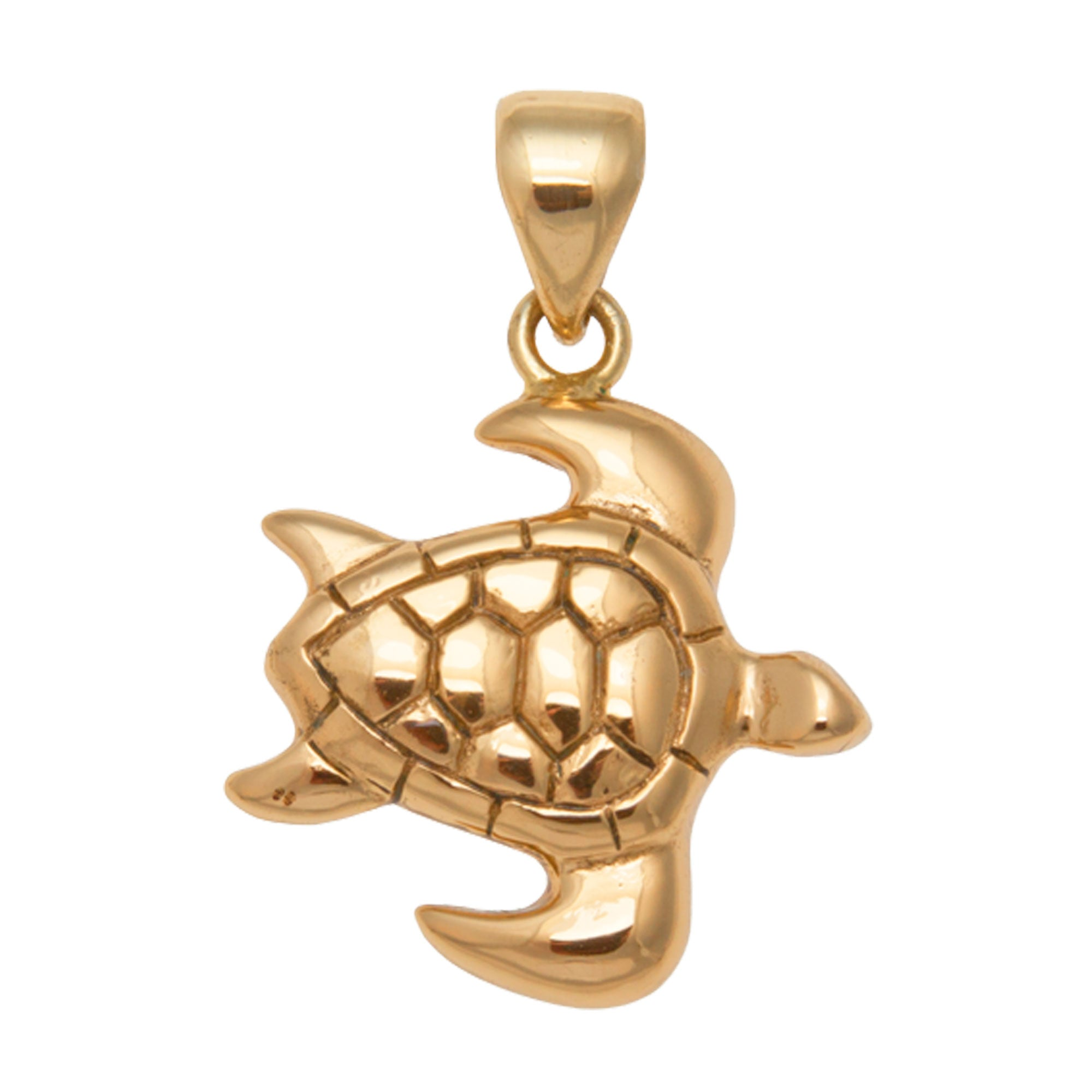 Alchemia Sea Turtle Pendant | Charles Albert Jewelry