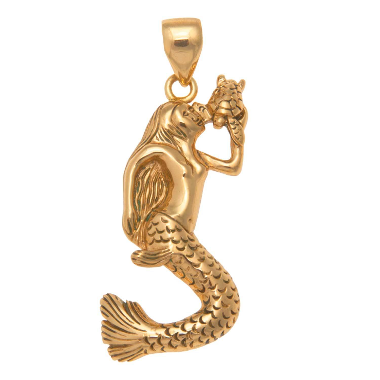 Alchemia Mermaid Pendant | Charles Albert Jewelry