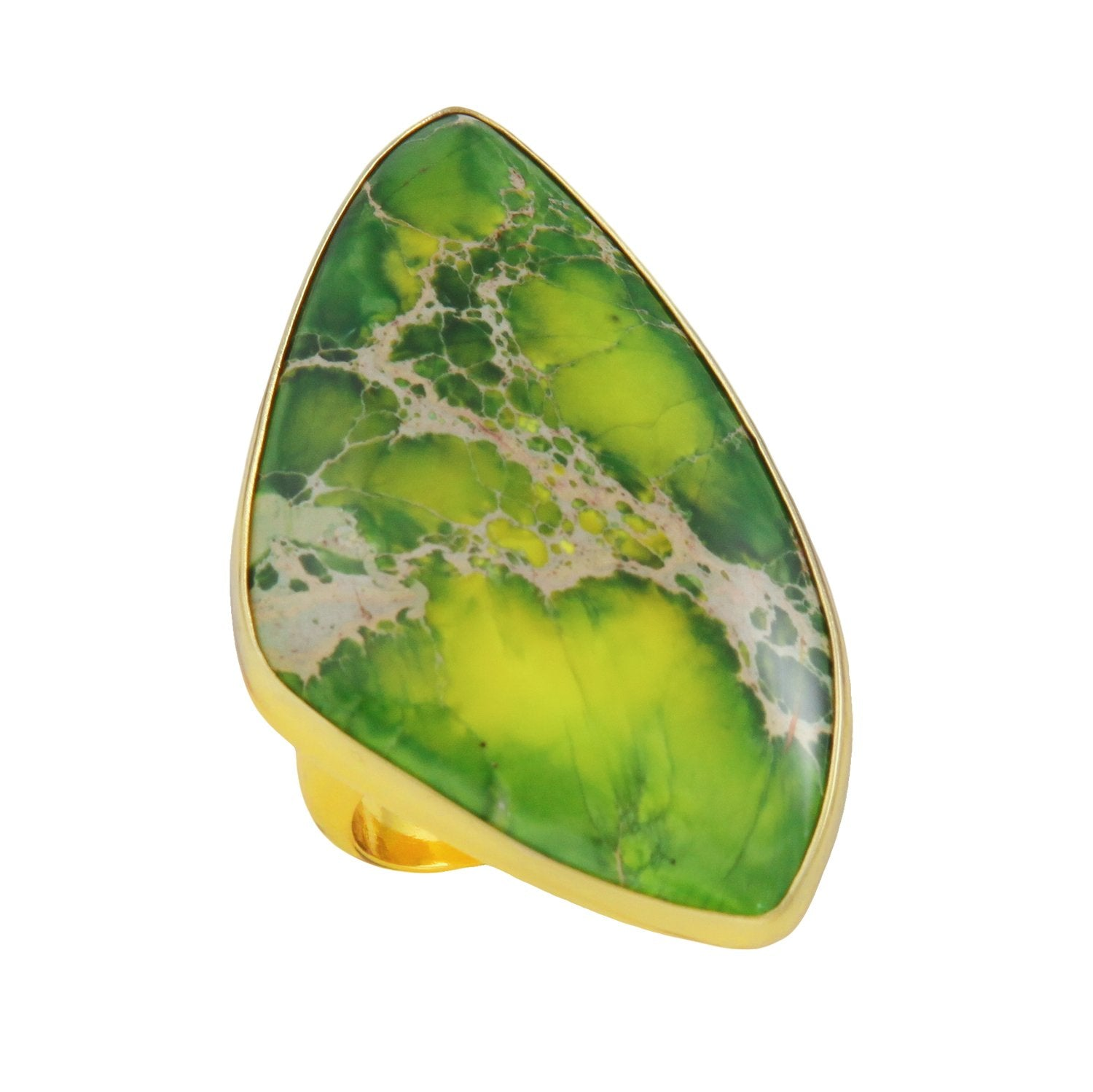 alchemia-green-jasper-ring - 1 - Charles Albert Inc