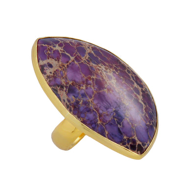 Alchemia Purple Jasper Ring