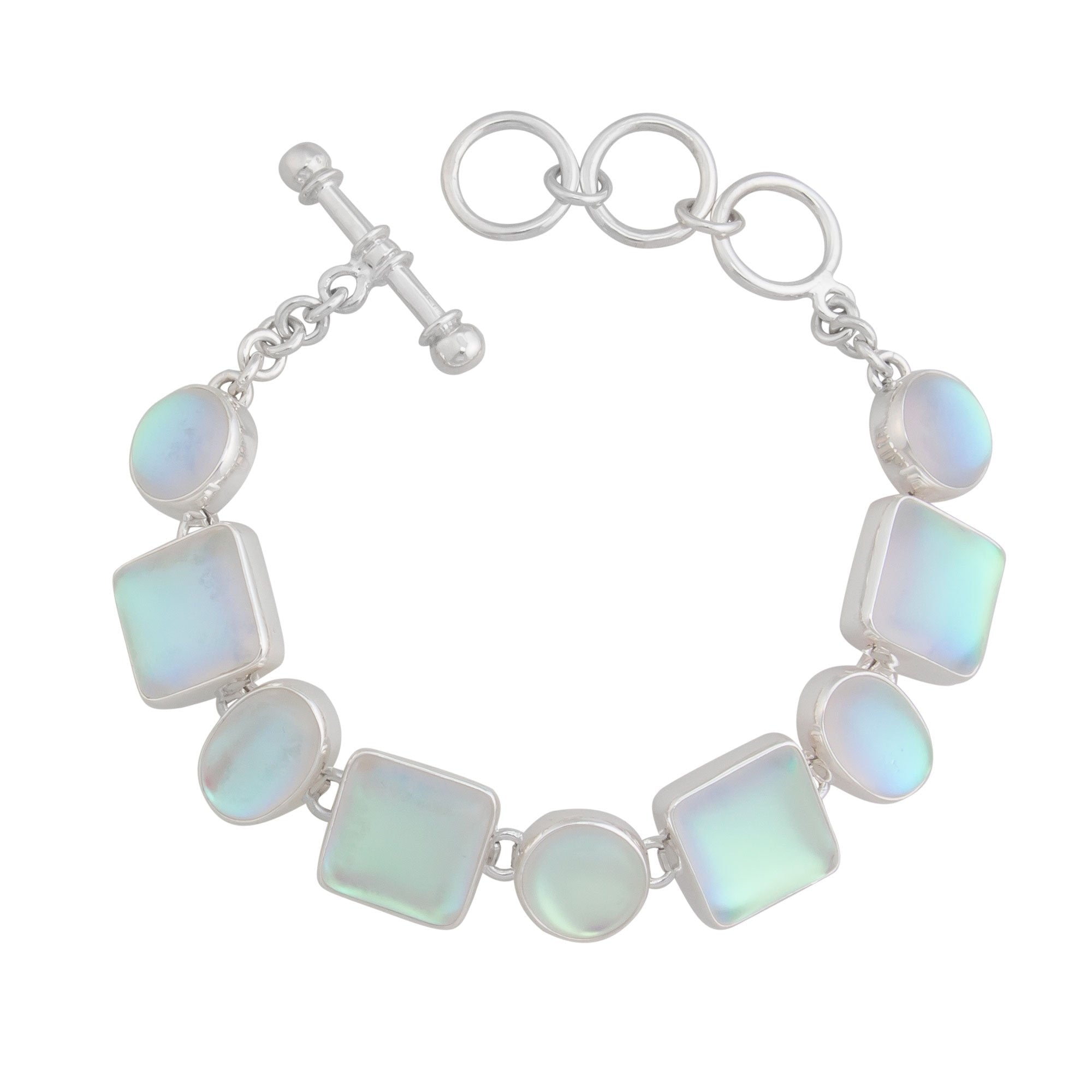 Sterling Silver Luminite Bracelet