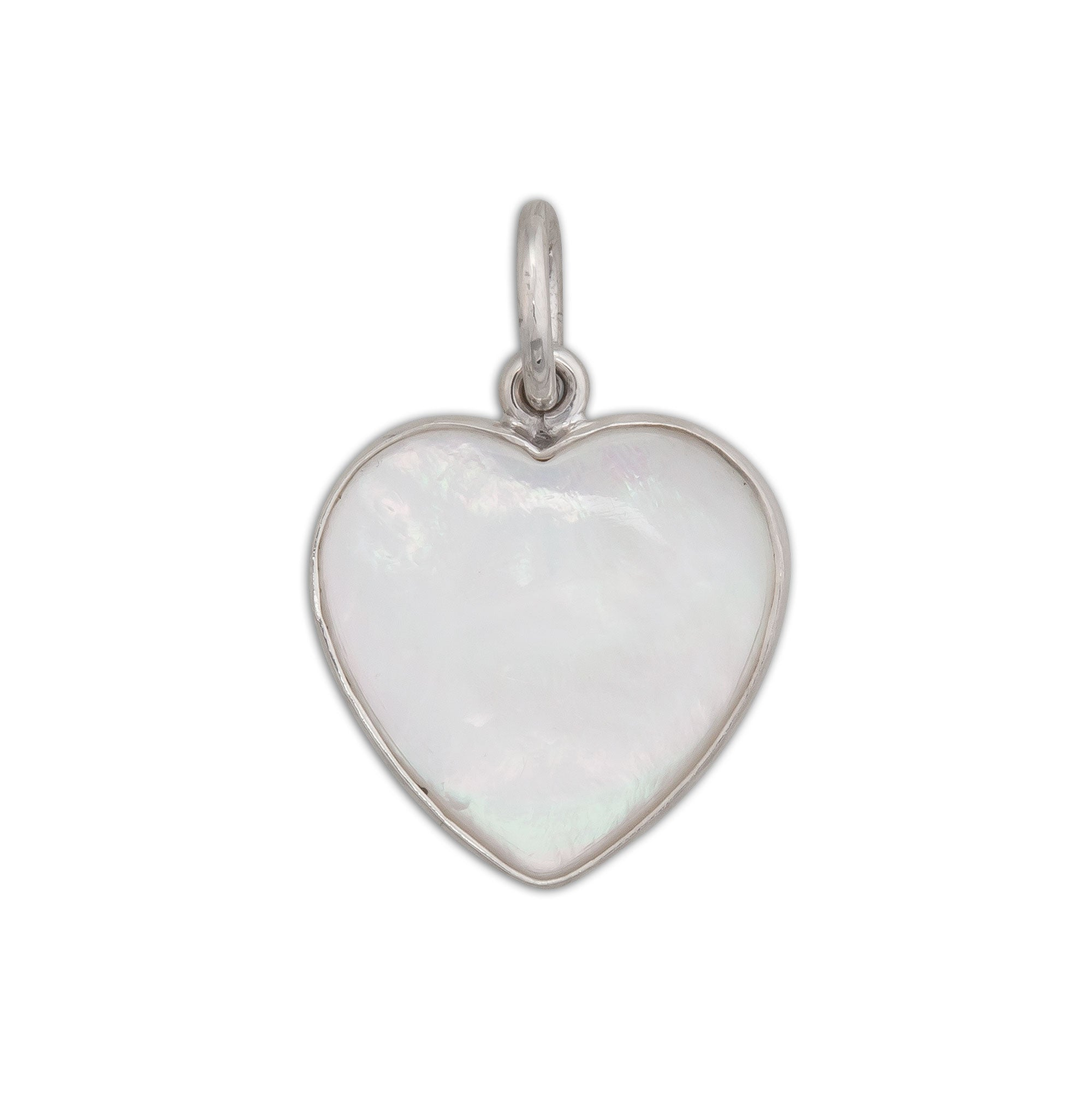Sterling-Silver-Mother-of-Pearl-Heart-Pendant-1-Charles Albert Inc