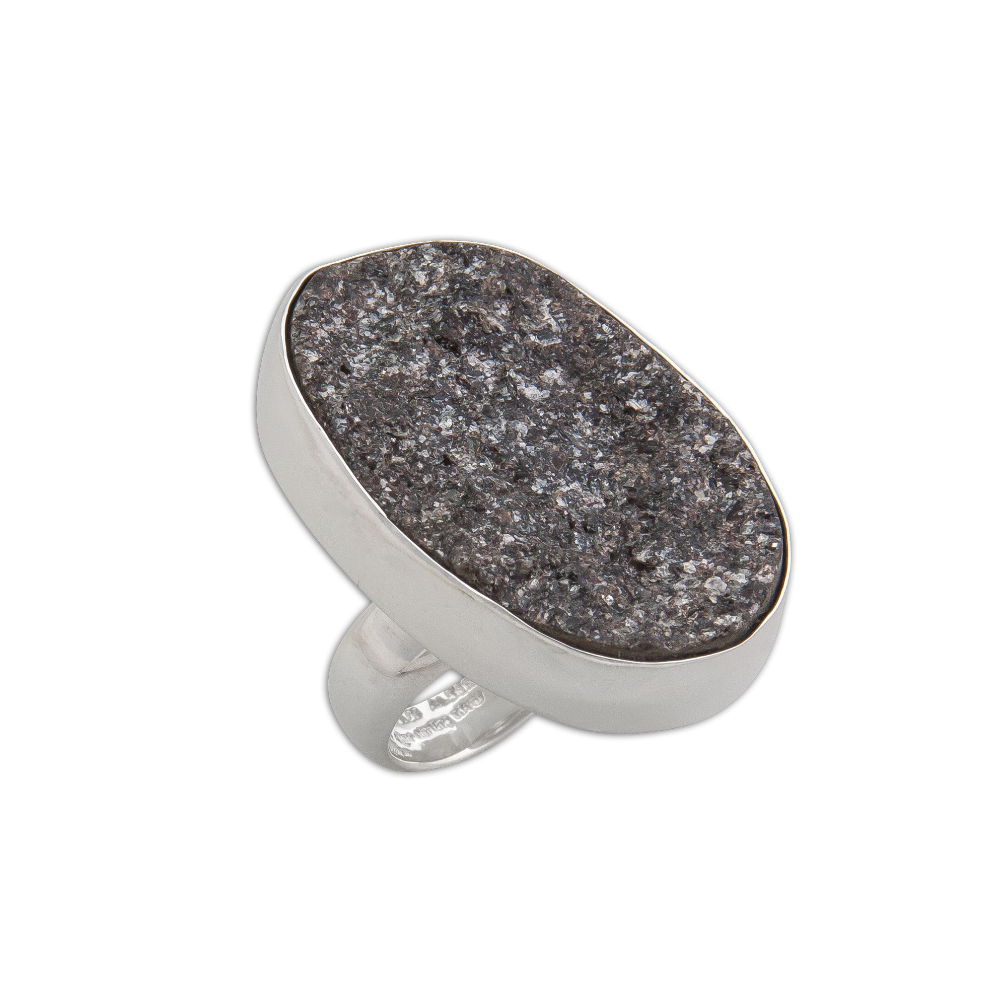 Sterling Silver Mica Adjustable Ring | Charles Albert Jewelry