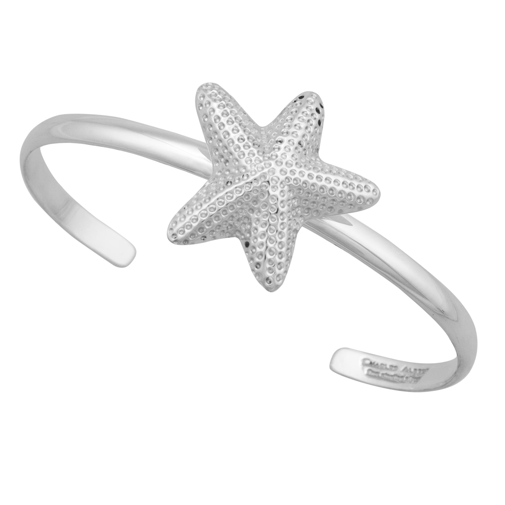 Sterling Silver Starfish Mini Cuff | Charles Albert Jewelry