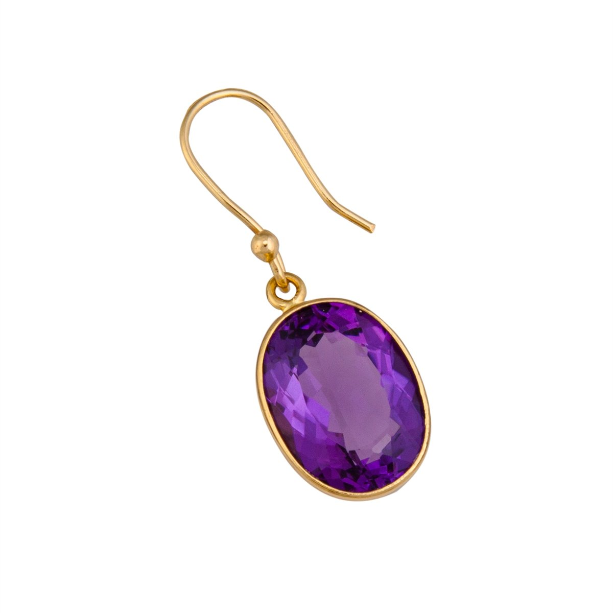 Alchemia Amethyst Drop Earrings | Charles Albert Jewelry