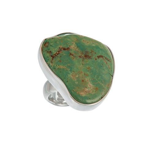 Sterling Silver Campo Frio Turquoise Adjustable Ring