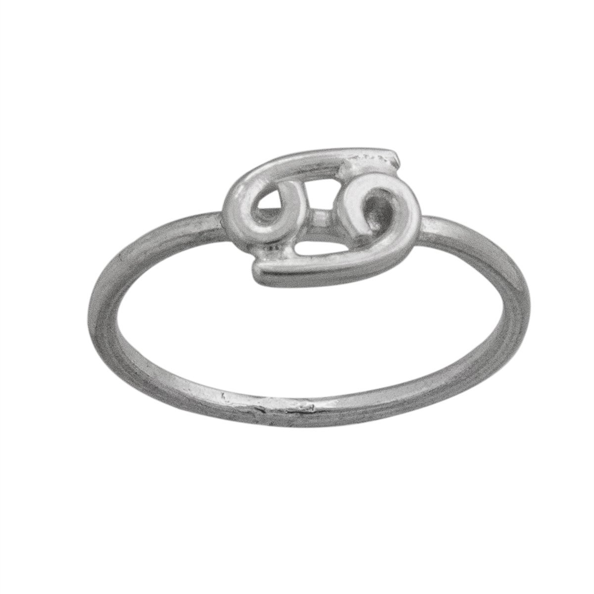 Sterling Silver Cancer Ring | Charles Albert Jewelry